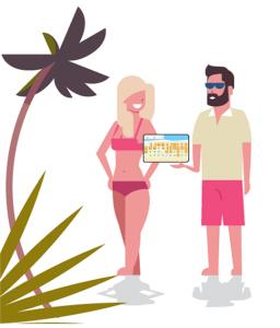 Andare al mare in modo semplice e sicuro per i gestori della spiaggia
